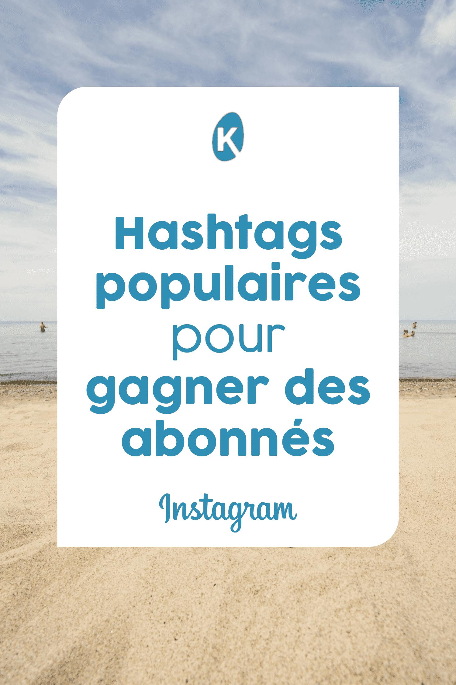 Les hashtags populaires sur Instagram 2020 par secteurs
