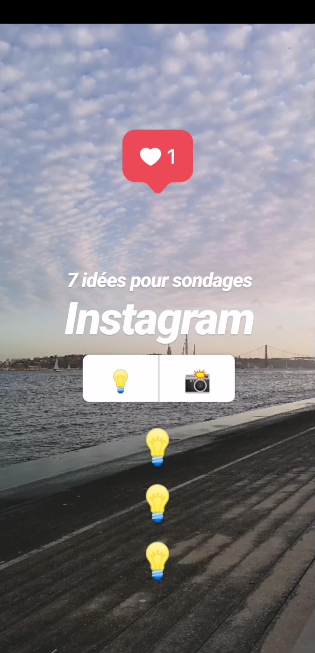 Comment faire un sondage sur Instagram ? 7 idées créatives pour utiliser les sondages dans Instagram Stories